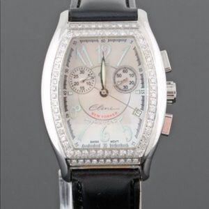 Authentic Elini New Yorker diamond ladies watch